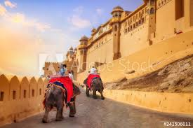 Amber-Fort-with-an-Elephant-ride
